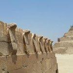Protective Cobras in Djoser pyramid complex