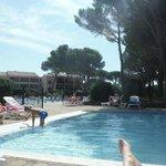 Pataugeoire + piscine