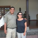 Our guide and friend, Santos