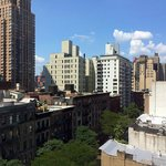 View from room towards 51 st. and 9th Av.