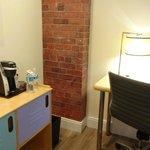 Desk, dresser area of queen superior guestroom