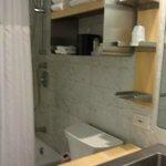 Bathroom in queen superior guestroom