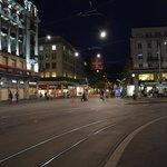 Paradeplatz in der Nacht