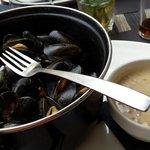 Moules bretonnes (sauce à part)