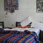 habitación...grande, clara y linda