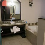 Bathtub and vanity - room 3511