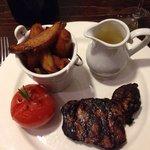 Steak frites with Bernaise sauce