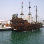Excursion bateau pirate