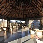 Pub and lounge area