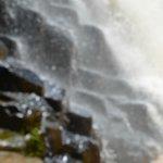 Vista de una de las cascadas