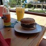 double cheese burger yum yum