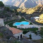 En drøm af et pool område