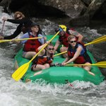 Approaching the Falls on the Nantahala with Rolling Thunder