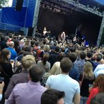 The National concert at Iveagh Gardens, Dublin