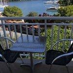 Balcony towards the harbour