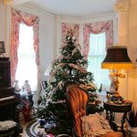 Christmas parlor and player piano