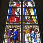 Example of the plentiful stained glass