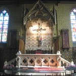 Fine altar in Gothic Chapel