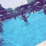 Water aerobics at stella palace!