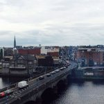 View of river Shannon from room