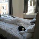 Corner room was nice. No TV. WTF!!??