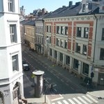 view from room to central Oslo