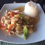 Food at the Asian a la carte restaurant!