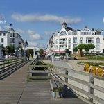 Ideale Lage an der Promenade, Seebrücke und Strand