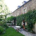 Charming garden and entrance