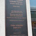 MEMORIAL TO OSKAR  SCHINDLER.