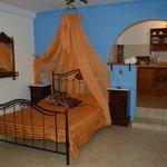 Villa Lukas  вот такая была кровать с балдахином