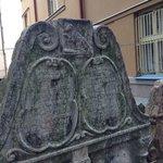 ornate grave stones