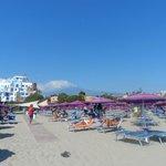 plage reservee hotel