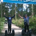 Segway tour with my grandson