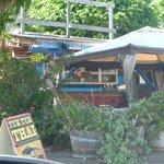 Eating area for Tuk Tuk