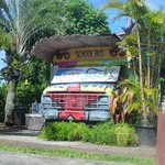 Front of Tuk Tuk from road