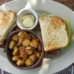 BLT with Home Fries