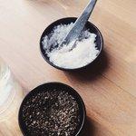 Salz und Pfeffer Foto