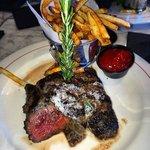 My husbands steak dinner!
