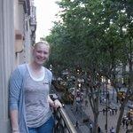 Balcony over Las Rmblas
