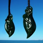 Marsden jade seed pod with sprout