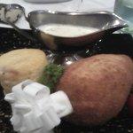 Chicken Kiev in the restaurant :-)