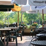 Enjoy our Outdoor Patio during spring and summer