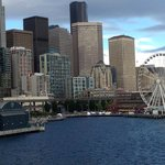 Downtown Seattle from the sea...
