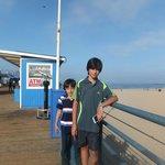 Zain Ali Nasir & Shahraiz @ Santa Monica Early morning pic