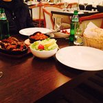 Thava chicken, chilli chicken, lamb chops! So yummy