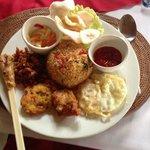 Indonesian menu