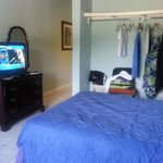 closet and tv, beachside manor