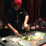 Table side Japanese restaurant show (reserve with your concierge ahead of time)