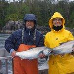 Salmon, salmon and more salmon